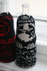 mate cosies, black/white and black/red