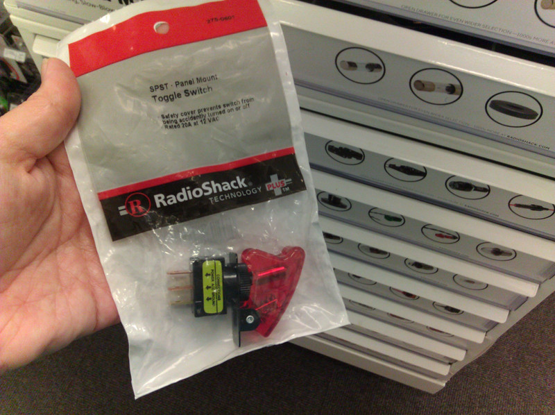 the day radio shack declared bankruptcy