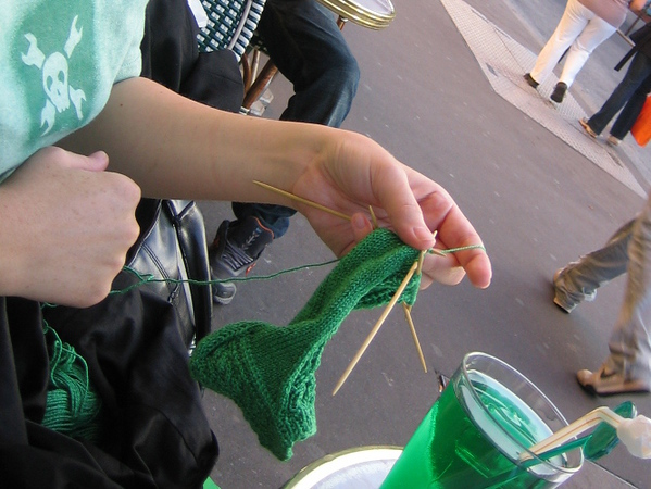knitting in paris