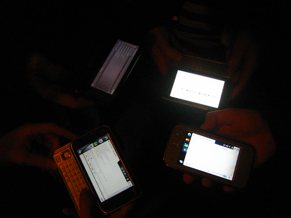 phones on a table the leet edition