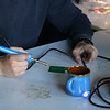 blue soldering time